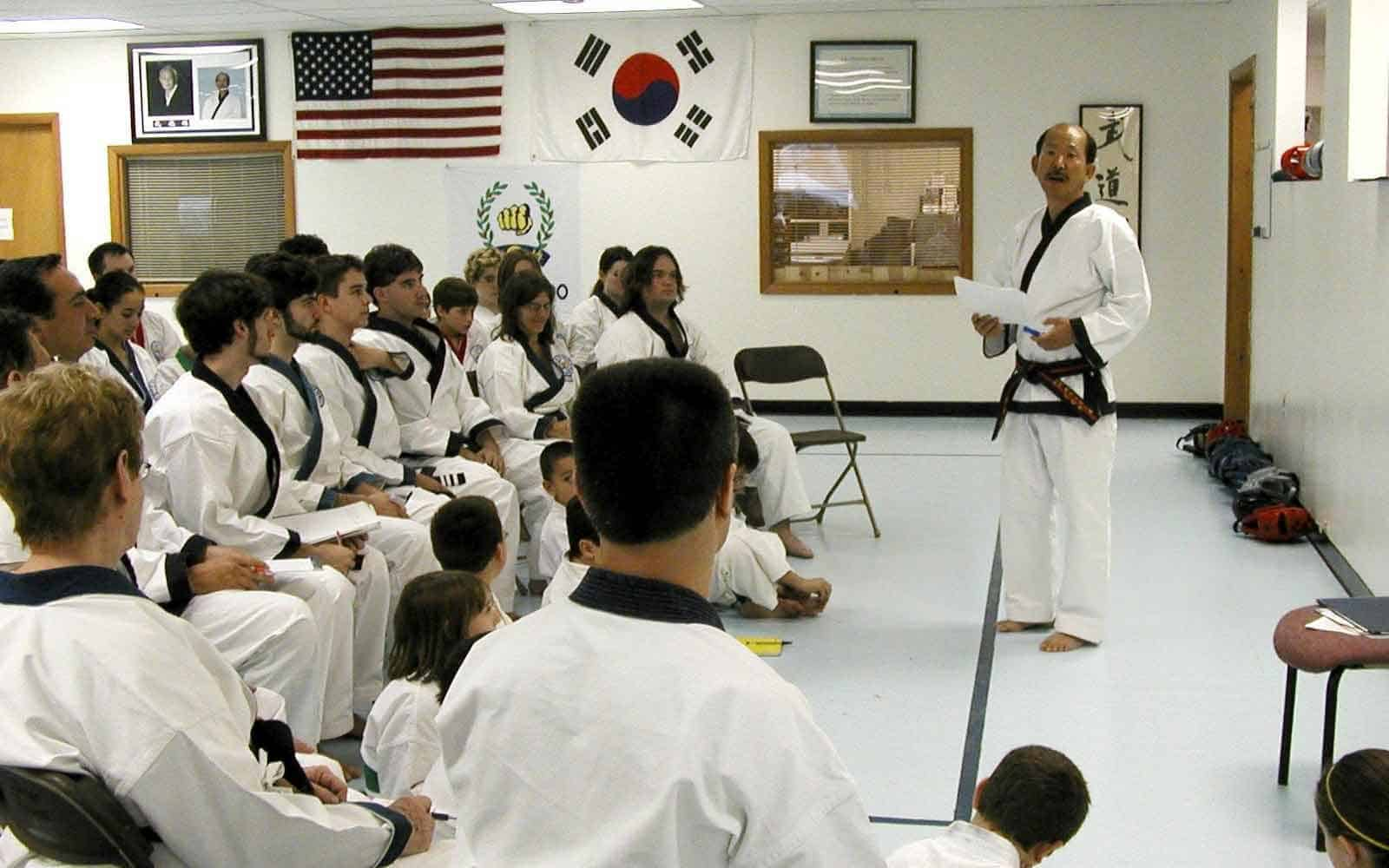 Learn Secrets of A Moo Duk Kwan® Moo Do Dojang