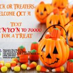 Trick or Treat By Text Message